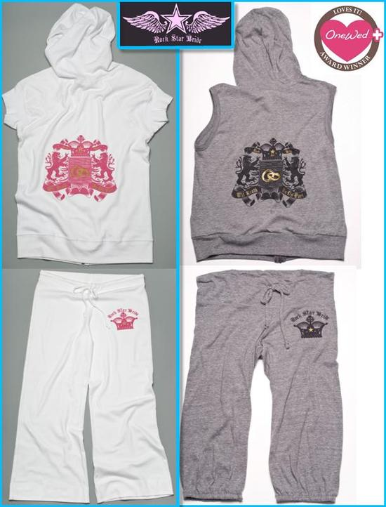 photo of Savvy Steals Weekly Giveaway- Rock Star Bride Hoody and Lounge Pants