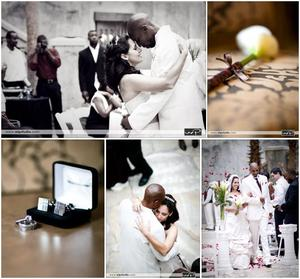 photo of Featured Wedding: Milagros and Aaron
