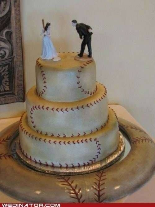 photo of 13 Baseball Details That'll Knock Your Wedding Out of the Park