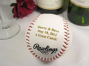 photo of Personalized Engraved Baseball by Etsy Seller EngravingWiz