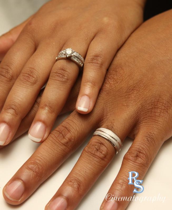Rings Black Hands