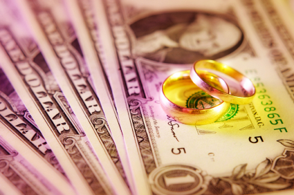 A marriage rests on solid finances.