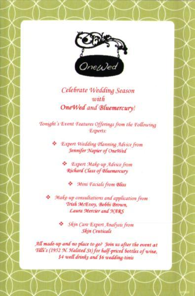 OneWed and Bluemercury invite our brides-to-be to celebrate wedding season!