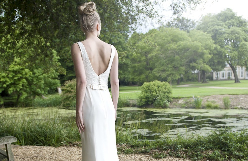Wedding Dress by Louise Selby 2013 Bridal Mimosa 3