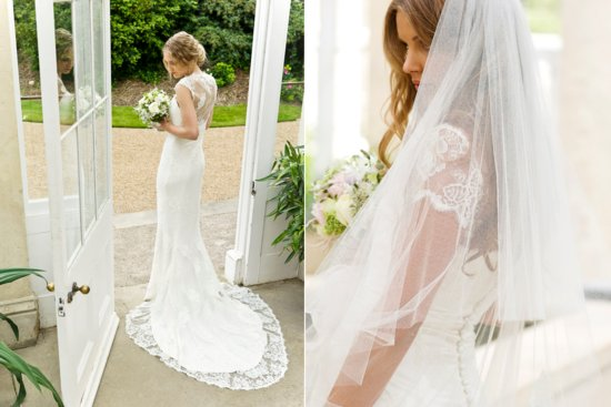 2013 Wedding Dress by Louise Selby Bridal Lace and Sheer Romance
