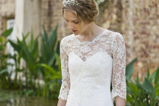 Wedding Dress by Louise Selby 2013 Bridal Magnolia