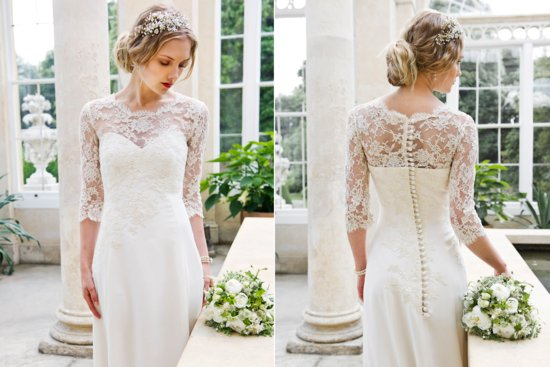 2013 Wedding Dress by Louise Selby Bridal Magnolia 2