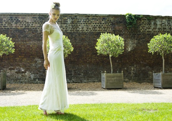 Wedding Dress by Louise Selby 2013 Bridal Violet 2