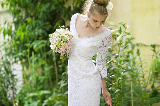 Wedding Dress by Louise Selby 2013 Bridal Dewdrop