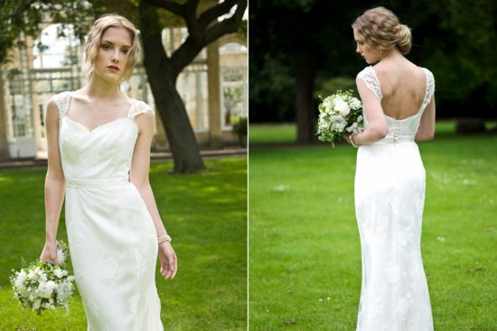 2013 Wedding Dress by Louise Selby Bridal Forget me knot 2