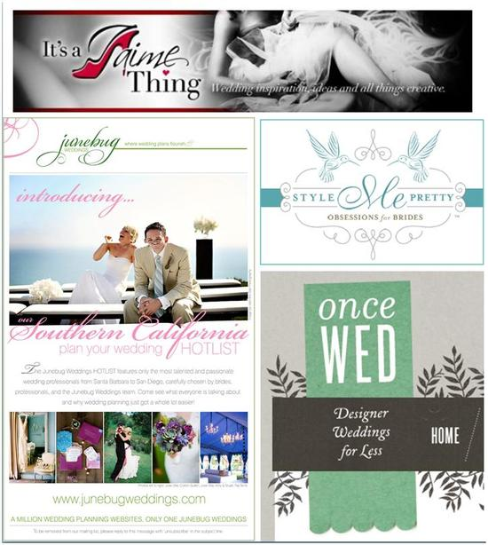Some of our favorite places for wedding inspiration- new and improved!