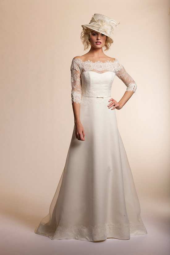 2013 wedding dress by Amy Kuschel Bridal Gardenia