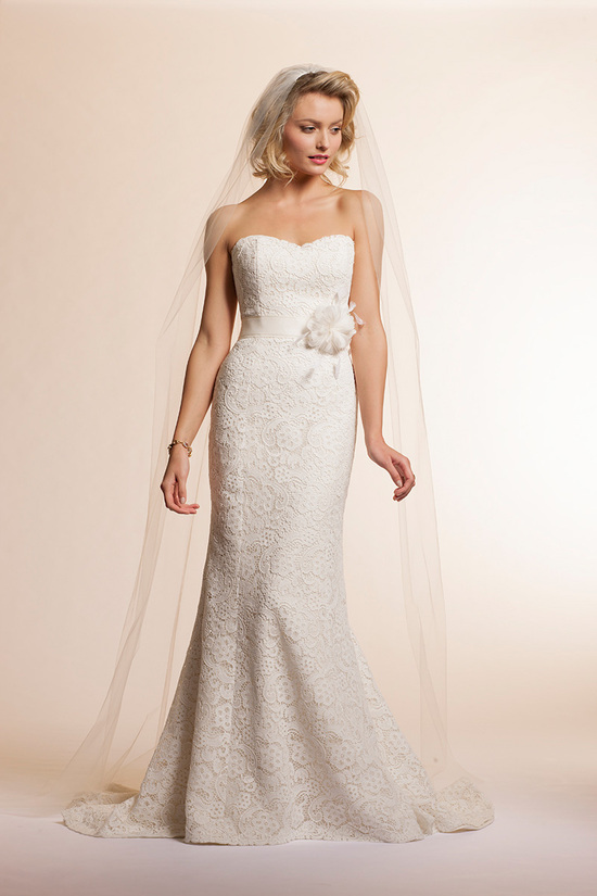 2013 wedding dress by Amy Kuschel Bridal Lavender