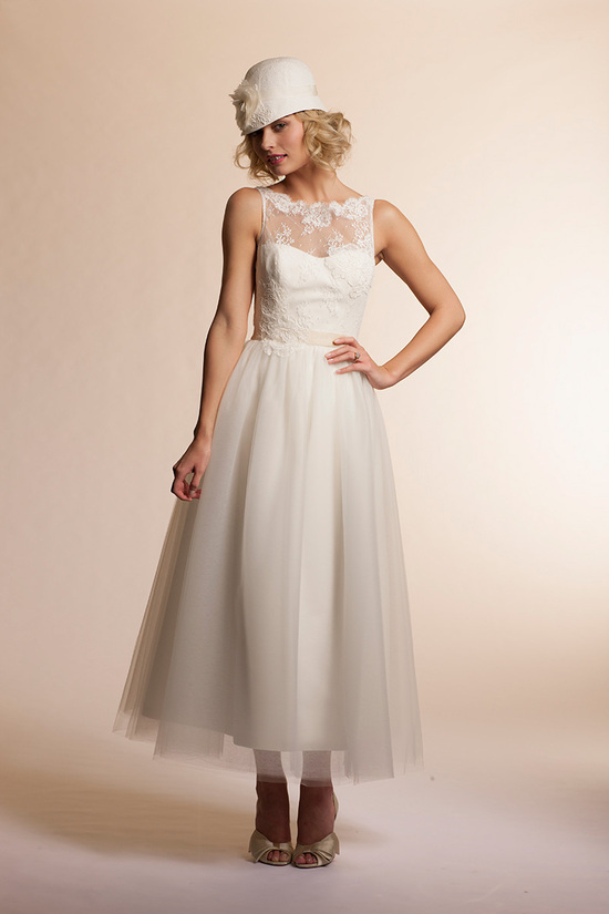 2013 wedding dress by Amy Kuschel Bridal Mimosa