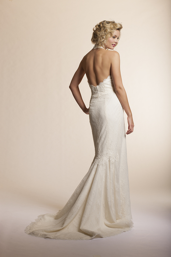 2013 wedding dress by Amy Kuschel Bridal Saffron