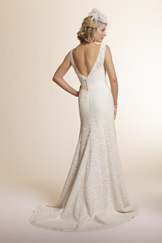 2013 wedding dress by Amy Kuschel Bridal Sage