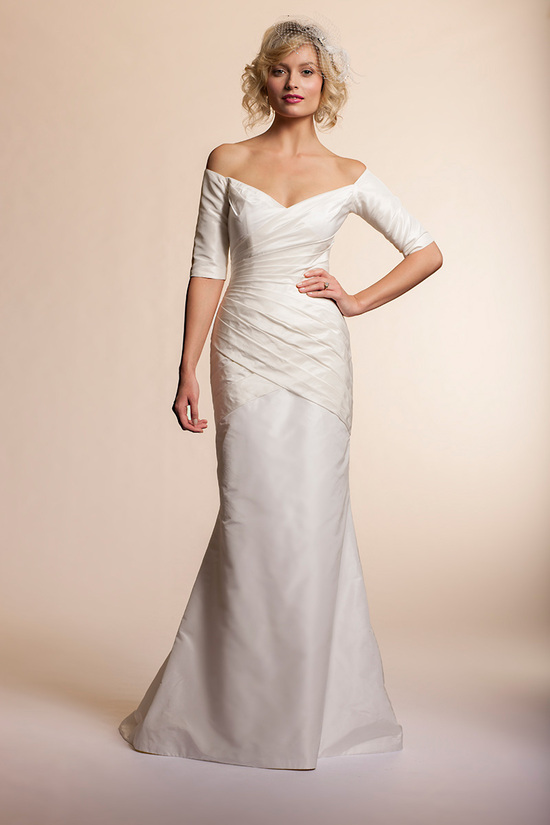 2013 wedding dress by Amy Kuschel Bridal Wisteria