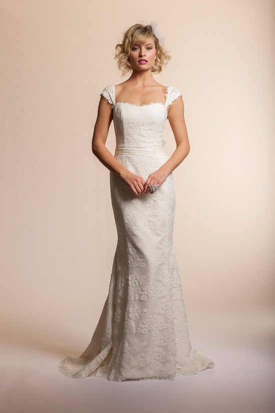 2013 wedding dress by Amy Kuschel Bridal Azalea