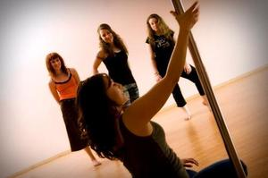 photo of Bubbly Bride: Pole Dancing Lessons For Your Bachelorette Party!