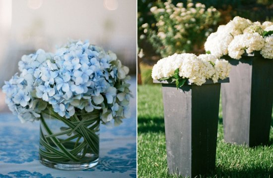 Hydrangea wedding flowers Spring inspiration 1