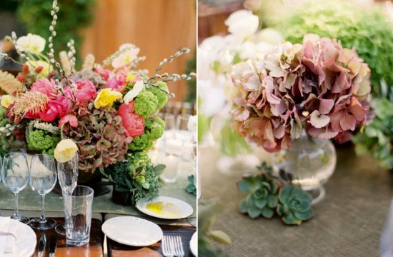 Hydrangea wedding flowers Spring inspiration 3