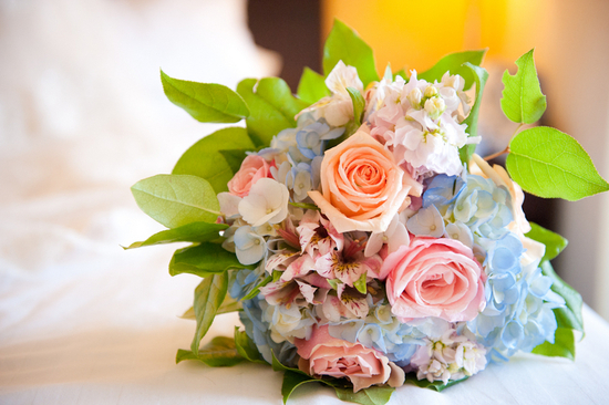 photo of Billowy Hydrangea Wedding Flower Inspiration
