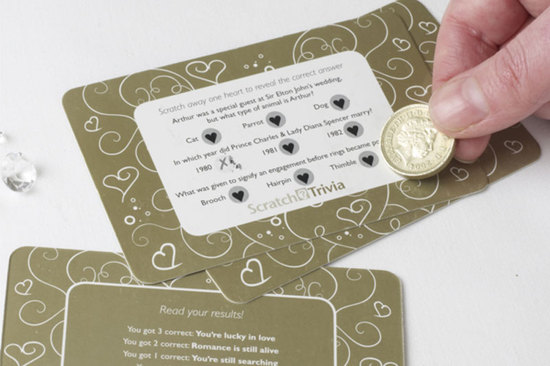 photo of 9 Subtle Ways to Gamify Your Wedding