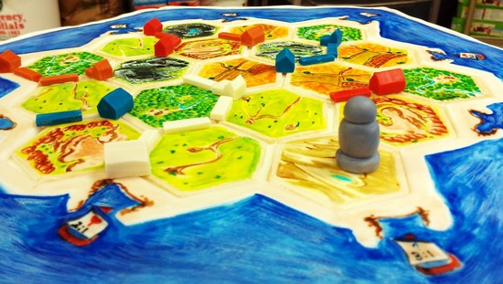 Settlers of Catan grooms cake