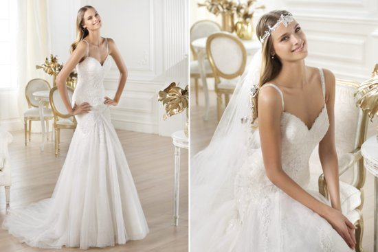 Pronovias Wedding Dress Pre 2014 Fashion Bridal Lari