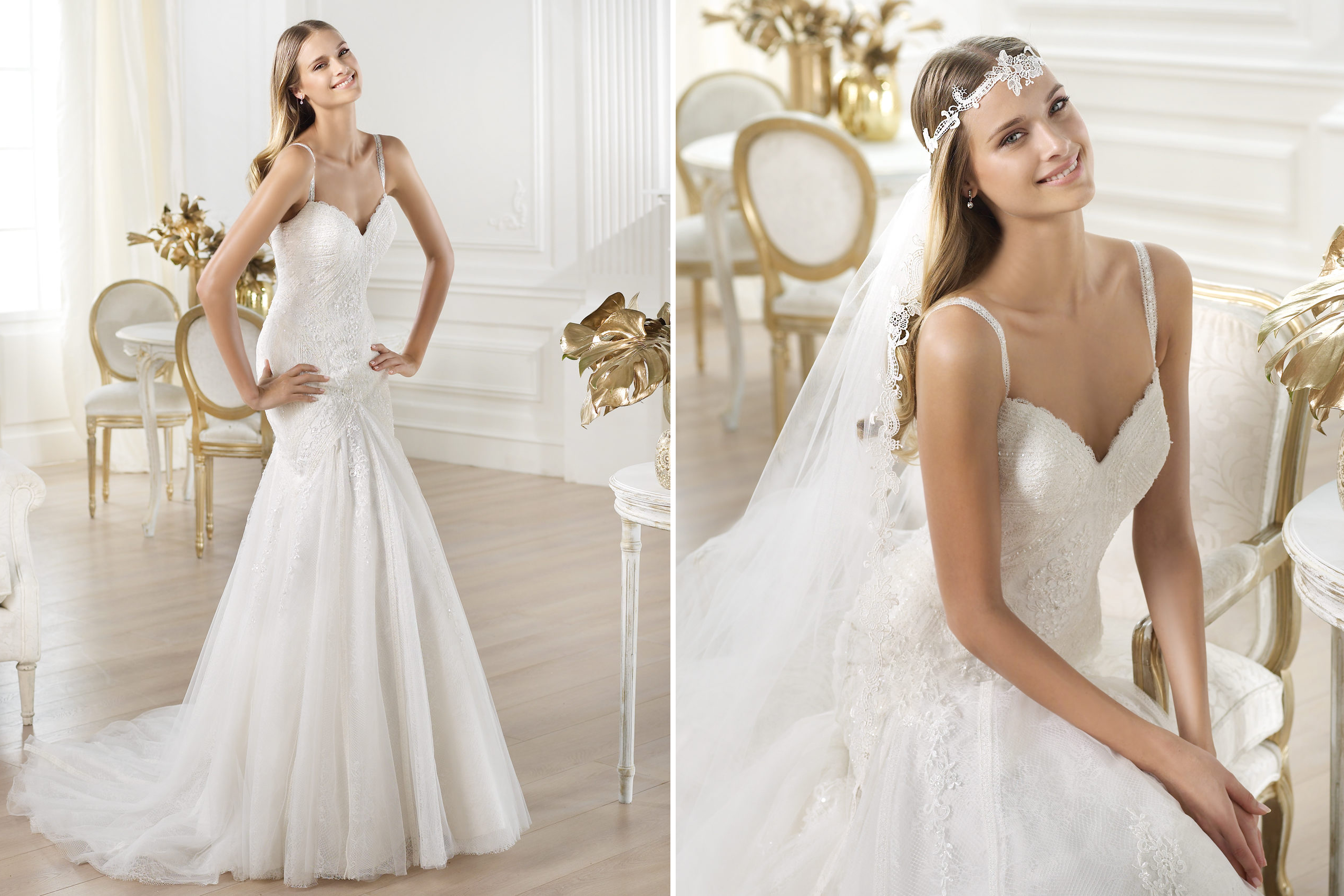pronovias wedding dress pre 2014 fashion bridal lari