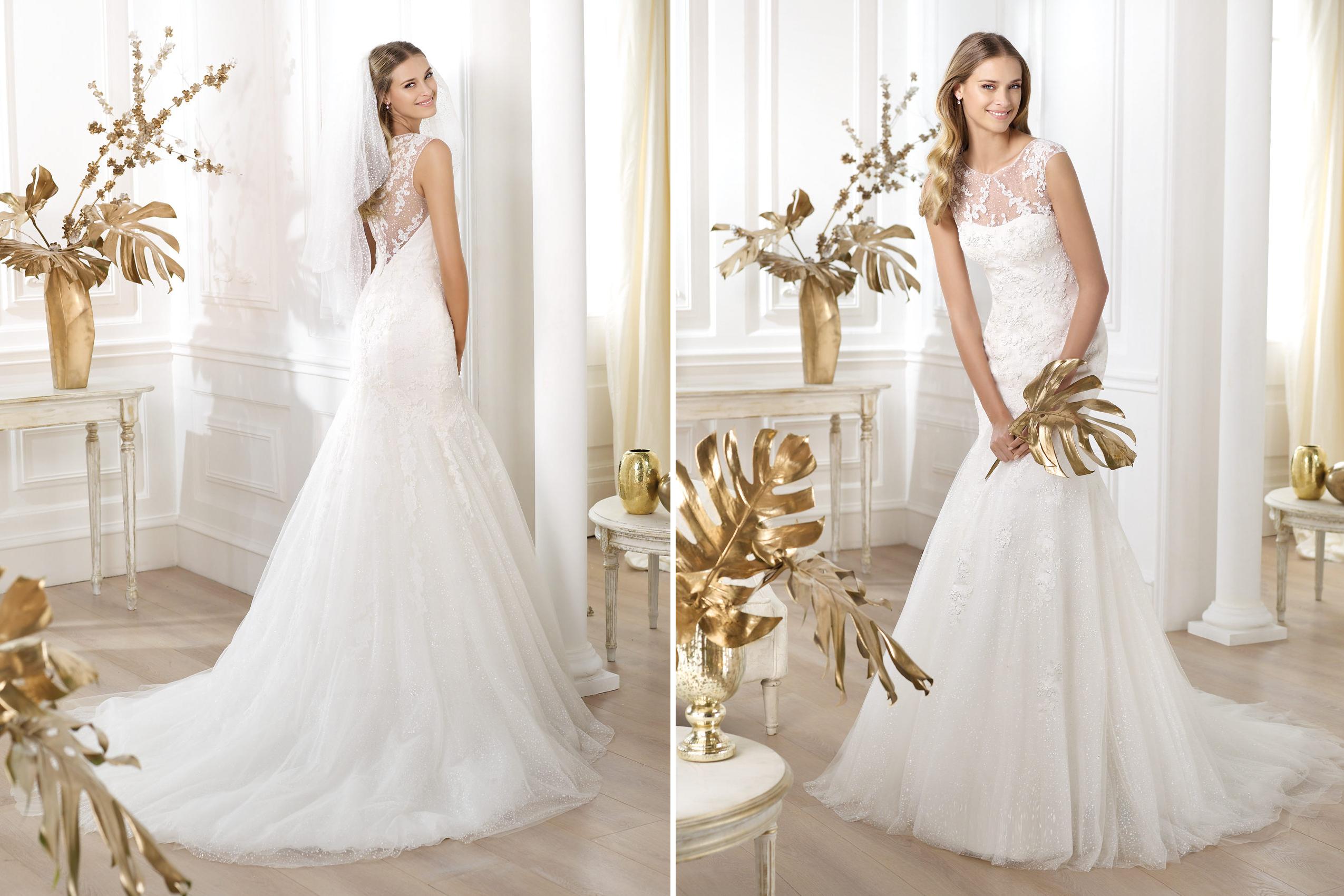 pronovias wedding dress pre 2014 fashion bridal lanice