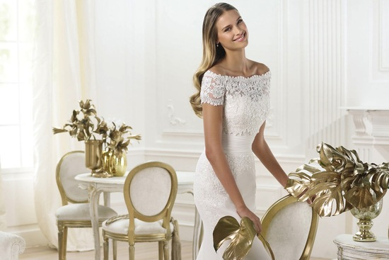 Lambina wedding dress pre 2014 bridal Pronovias Fashion