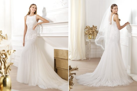 Pronovias Wedding Dress Pre 2014 Fashion Bridal Lacasta