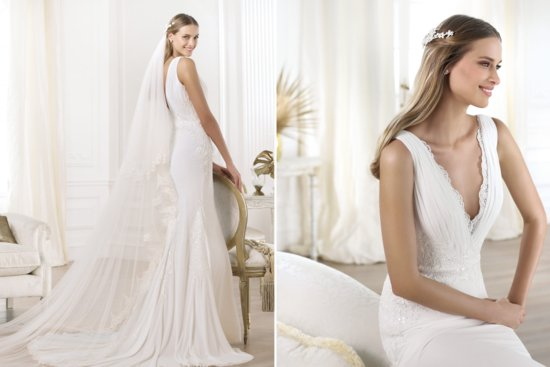 Pronovias Wedding Dress Pre 2014 Fashion Bridal Lamero