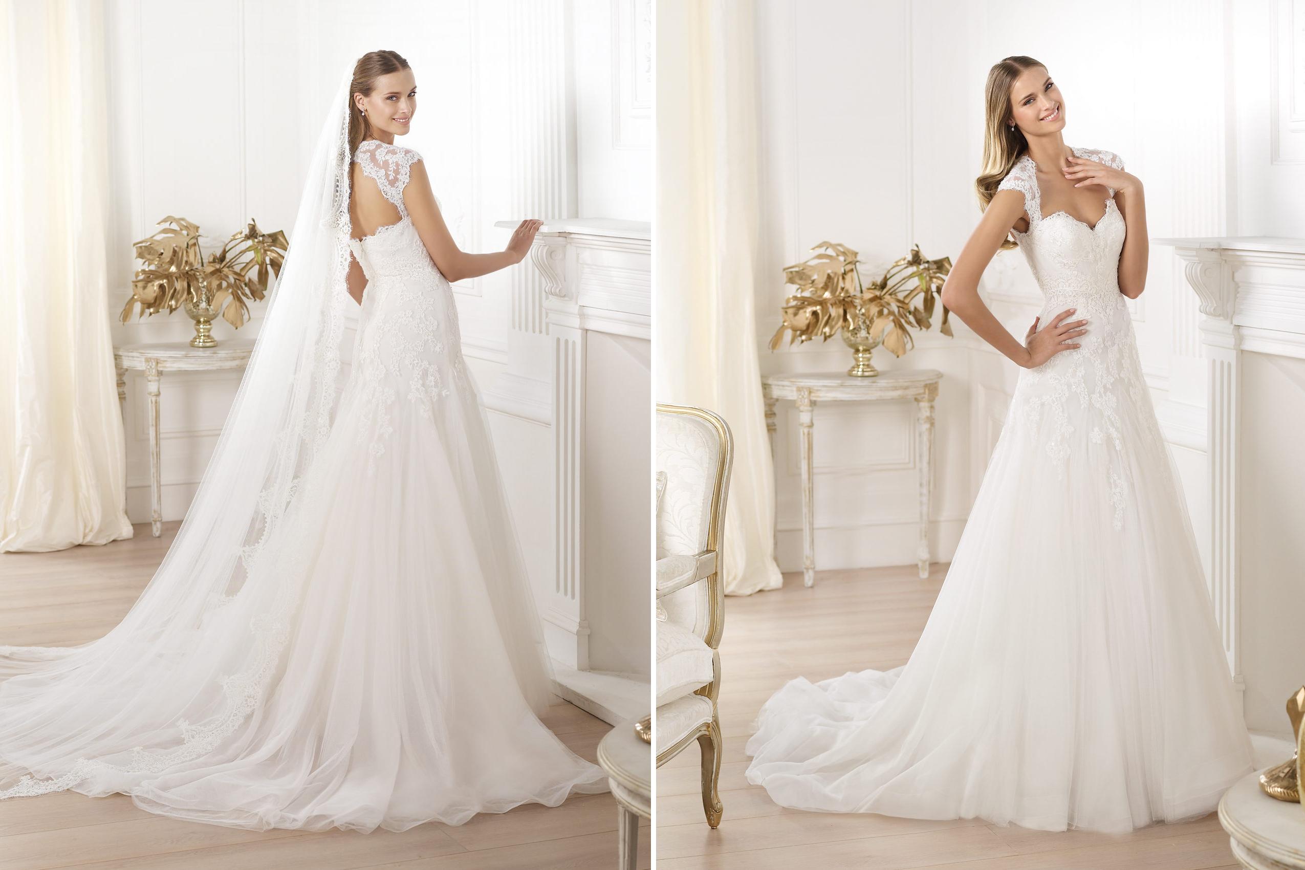 pronovias wedding dress pre 2014 fashion bridal lany