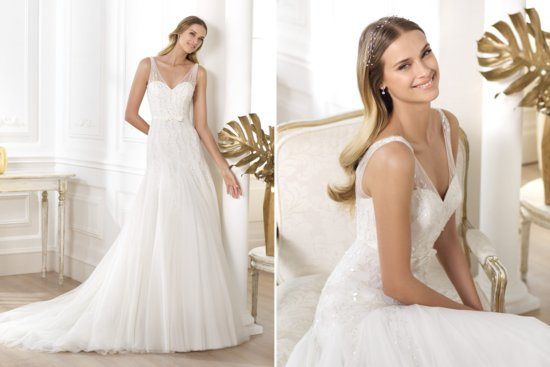 Pronovias Wedding Dress Pre 2014 Fashion Bridal Lansinne