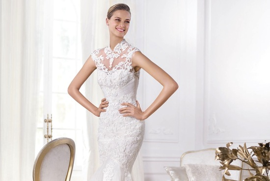 Leroig 2014 wedding dress Pronovias Bridal