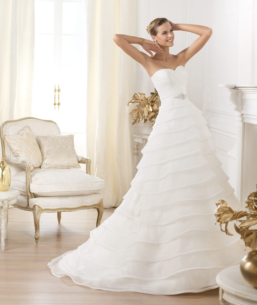 Pronovias wedding dress pre 2014 Glamour bridal collection Lasei