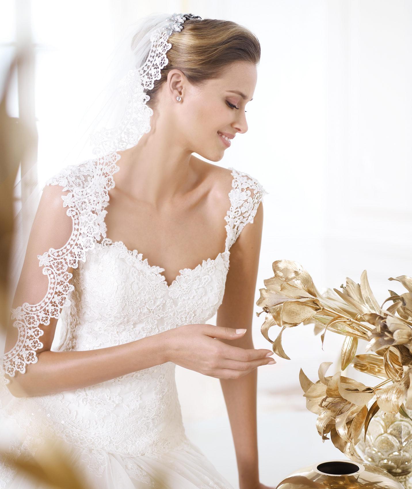 Wedding Gowns 2014: Pronovias Wedding Dress Pre 2014 Glamour Bridal Collection