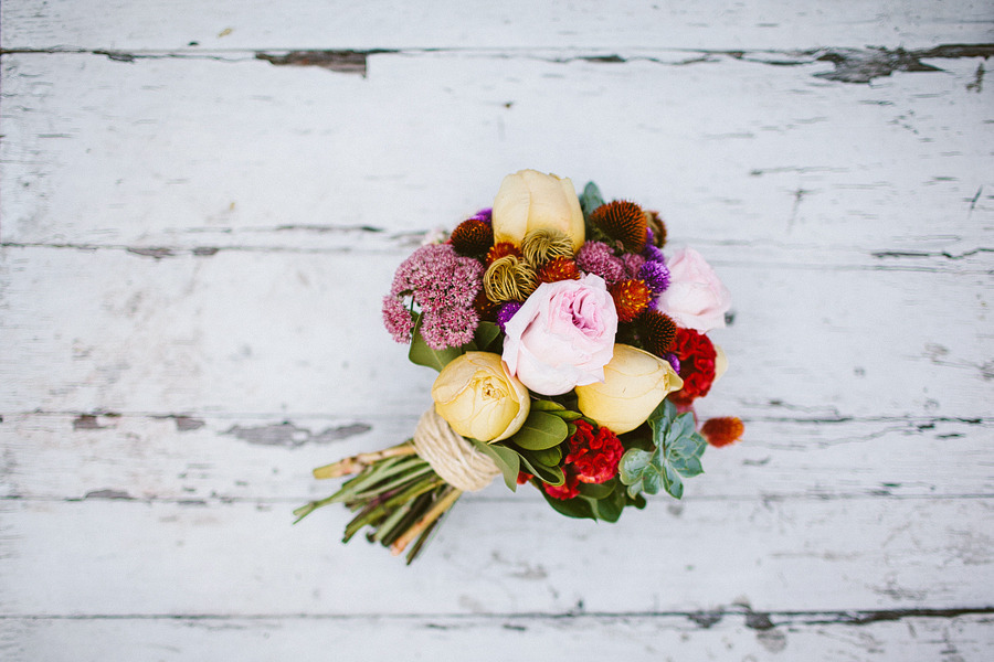 Unique-bridal-bouquet-yellow-red-pink.full
