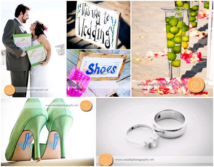 Onada-photography-pink-green-beach-wedding-limes-green-shoes-with-blue-crystals.full