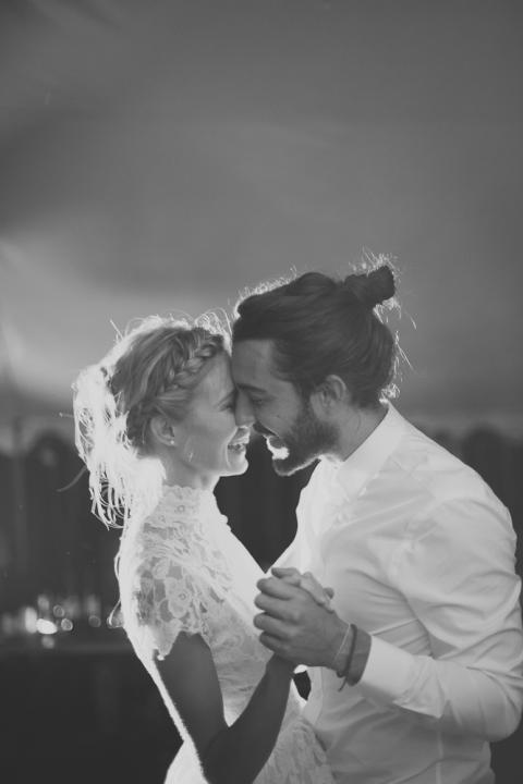 Top Knot Romantic Wedding Hairstyle 9