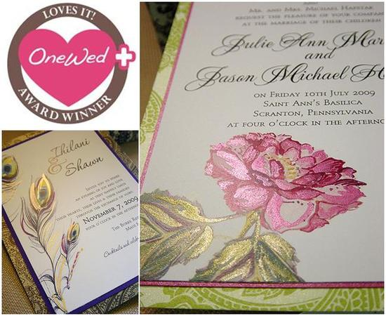 Savvy Steals Winner- Hand-Painted Wedding Stationery Designed by a True Artist goes to...