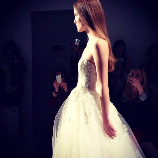 instagram onewed wedding dress bridal week amsale bridal