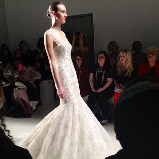 instagram onewed wedding dress bridal week kenneth pool