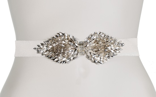 Jenny Packham Wedding Accessories Spring 14 Bridal Navette belt