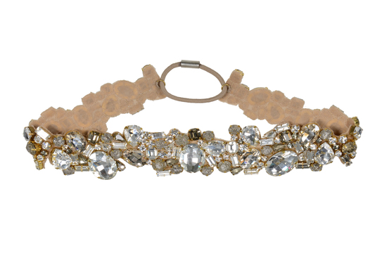 Jenny Packham Wedding Accessories Spring 14 Bridal lava headband