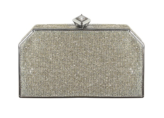 Jenny Packham Wedding Accessories Spring 14 Bridal Casa silver clutch
