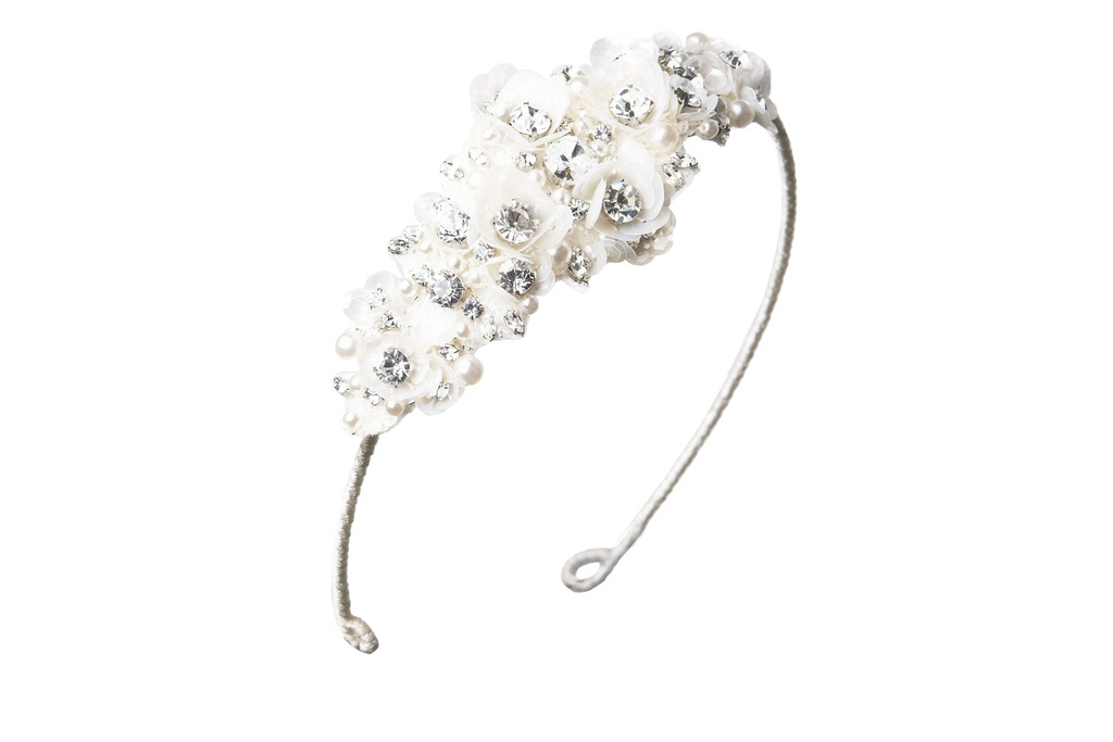 Jenny Packham Wedding Accessories Spring 14 Bridal Camellia headband