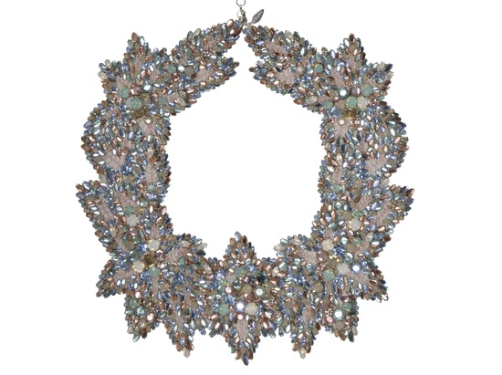 Jenny Packham Wedding Accessories Spring 14 Bridal collar necklace